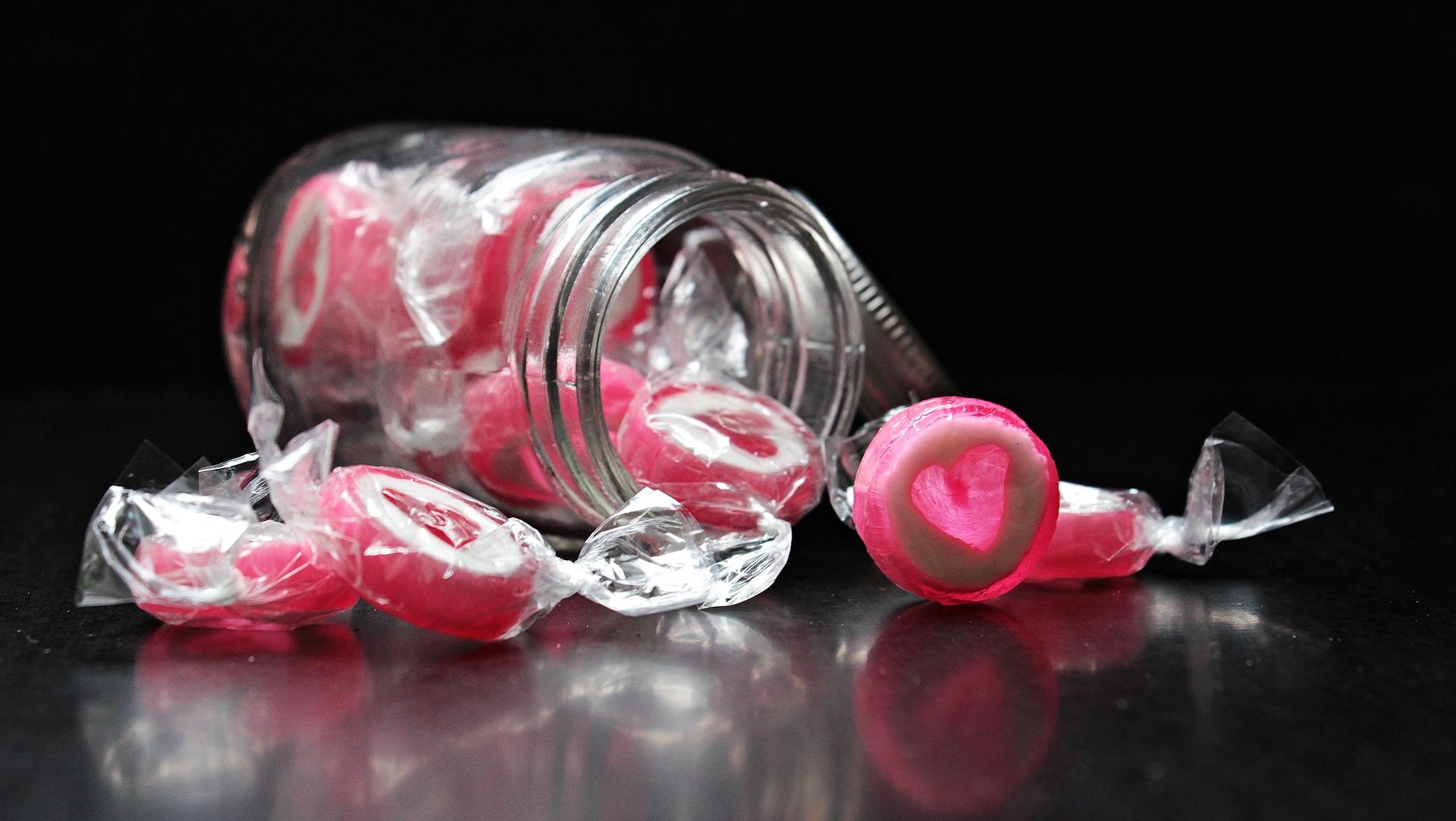 reklamní bonbony