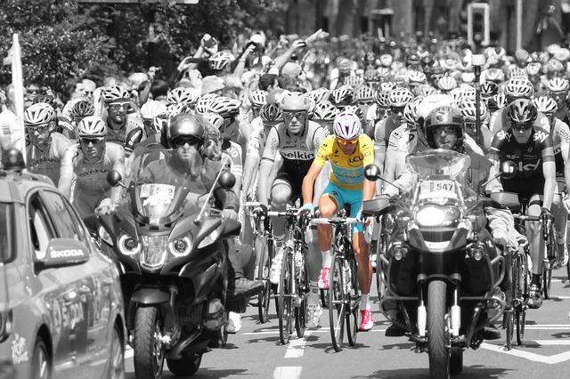Tour De France a žlutý dres