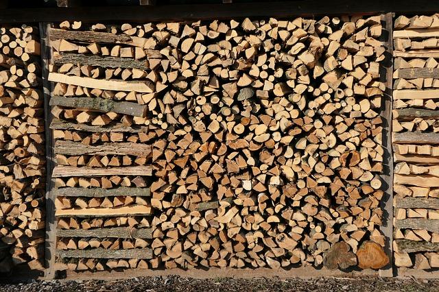 Dřevo zahřeje vícekrát