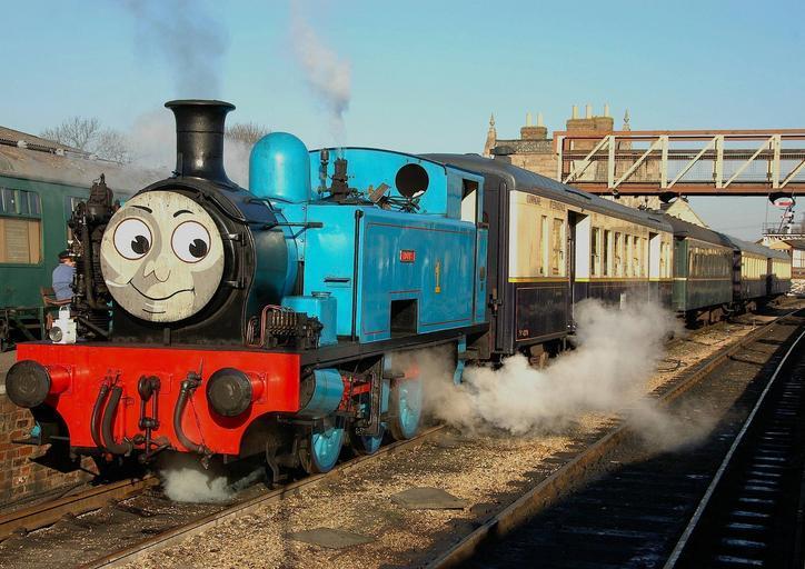 Vánoce s lokomotivou Tomášem budou kouzelné